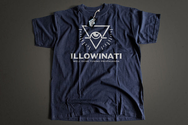 "Tshirt ""ILLOWINATI"" - Peace and Low Petrolhead Clothing"
