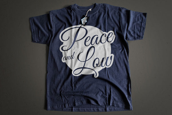 "Tshirt ""Peace and Low"" Mod.Bubble - Peace and Low Petrolhead Clothing"