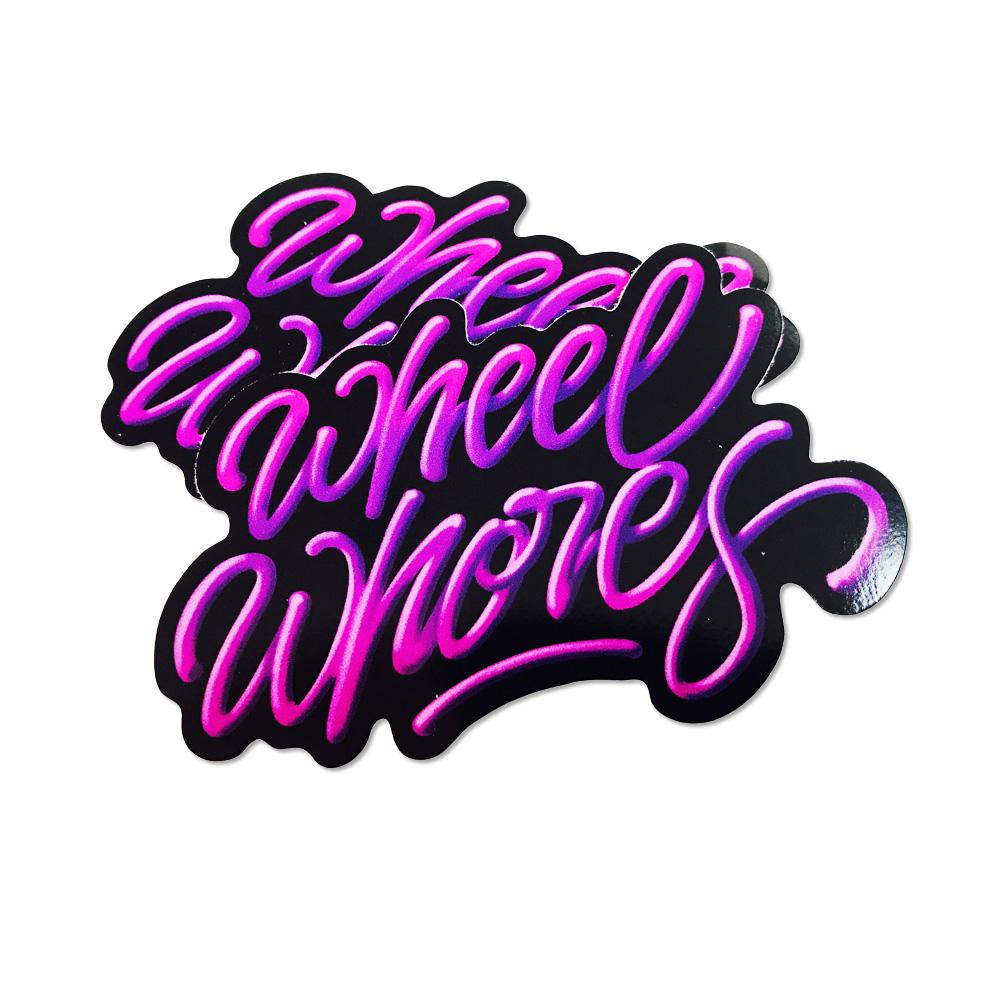 Adesivo Sticker Neon Dreams - Wheel Whores Italia