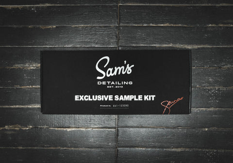 Exclusive Sample Kit - Kits - Sam's Detailing