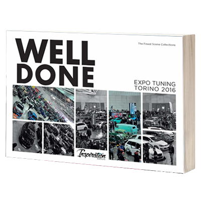 "Libro Book ""WELL DONE - Expo Tuning Torino 2016"""
