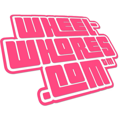 Adesivo Sticker Grand Whores PINK - Wheel Whores Italia