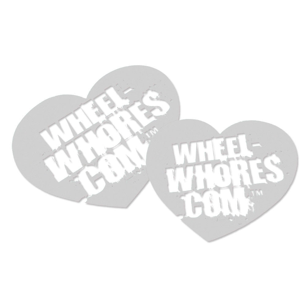 Adesivo Sticker Heart FROSTED Wheel Whores Italia