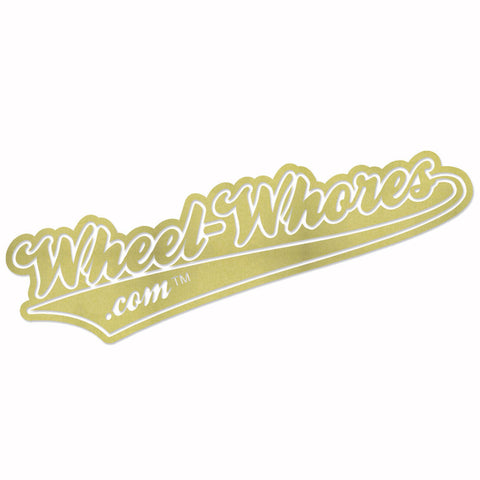 Adesivo Sticker OLD GOLD - Wheel Whores Italia