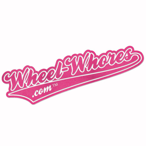 Adesivo Sticker OLD PINK - Wheel Whores Italia