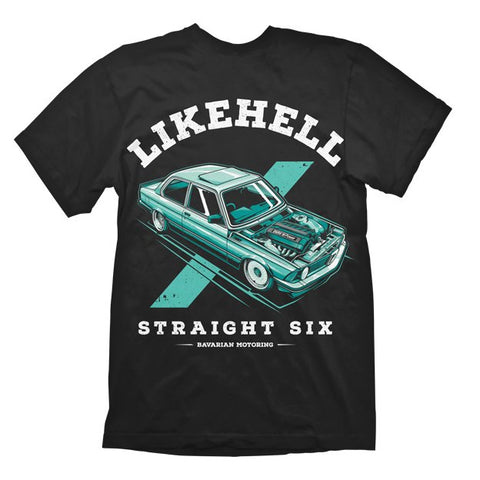 T-shirt Straight Six - LikeHell Clothing