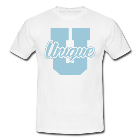 "Tshirt ""U Un1que"" - Peace and Low Petrolhead Clothing"
