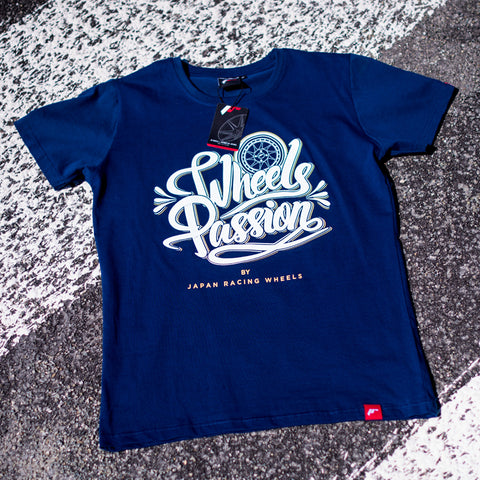 T-shirt Passion NavyBlue - JR Japan Racing Apparel