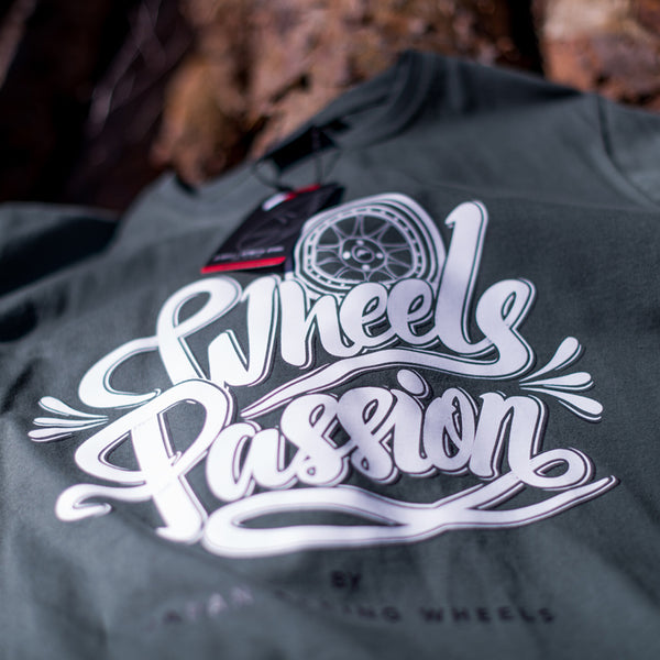 T-shirt Passion Olive - JR Japan Racing Apparel