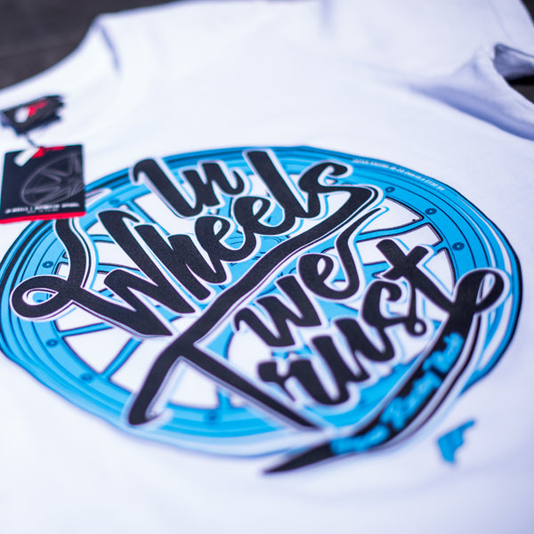 T-shirt Trust White - JR Japan Racing Apparel