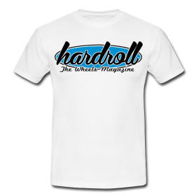 "Tshirt ""hardroll oval"" - Peace and Low Petrolhead Clothing"