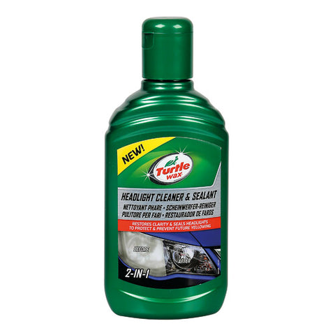 Pulitore e protettivo Fari Headlight Cleaner & Sealant 300ml - Turtle Wax