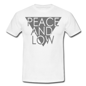 "Tshirt ""Peace and Low"" Mod.TWO - Peace and Low Petrolhead Clothing"
