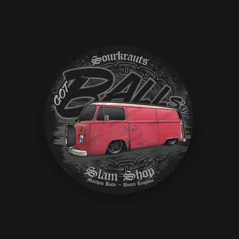 Adesivo Balls Slam Shop Sticker - Sourkrauts