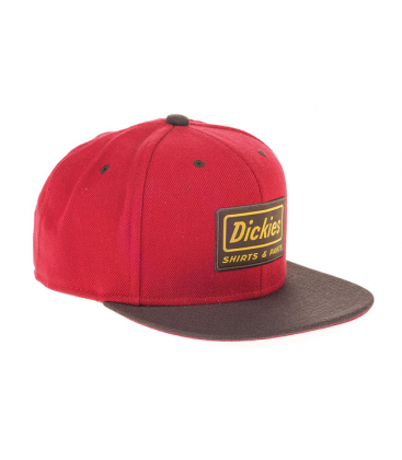 Dickies SnapBack Jamestown Rosso Red - Kustom & American Brands