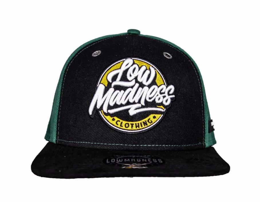 Snapback High Flyers Black Green - LowMadness