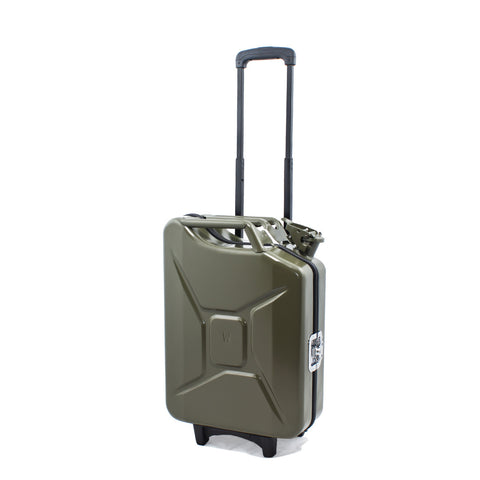 Trolley Tank - Tanica VERDE SCURO MILITARE Military Green G-Case