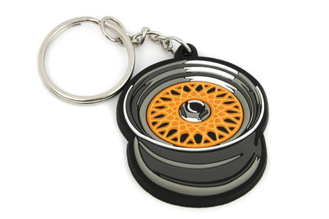 BBS RS Wheel Cerchio Silikon PVC Portachiavi Keyrings - Car Keychains