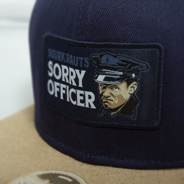Snapback Sorry Officer Blu Blue - Sourkrauts