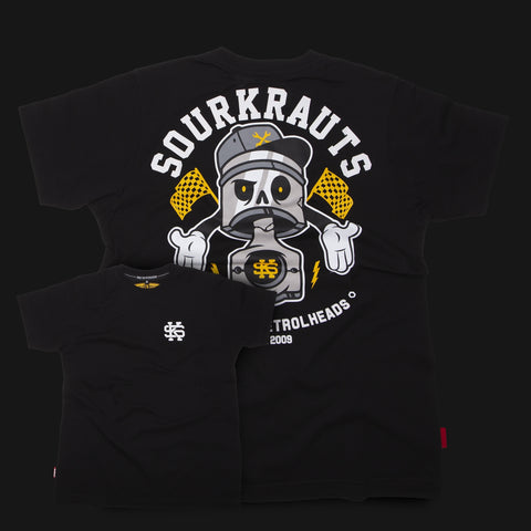 T-shirt Arthur Black Nera - Sourkrauts