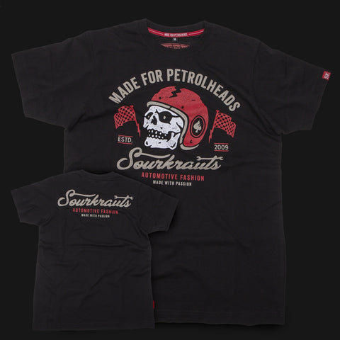 T-shirt Chris Nera Black - Sourkrauts