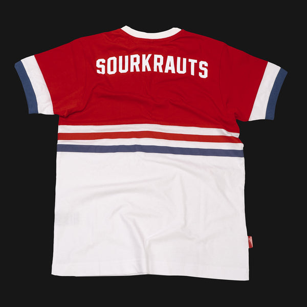 T-shirt Otis Red Blue White - Sourkrauts