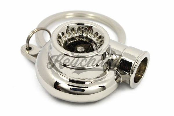 Turbina Chrome Cromo Portachiavi Keyrings - Car Keychains