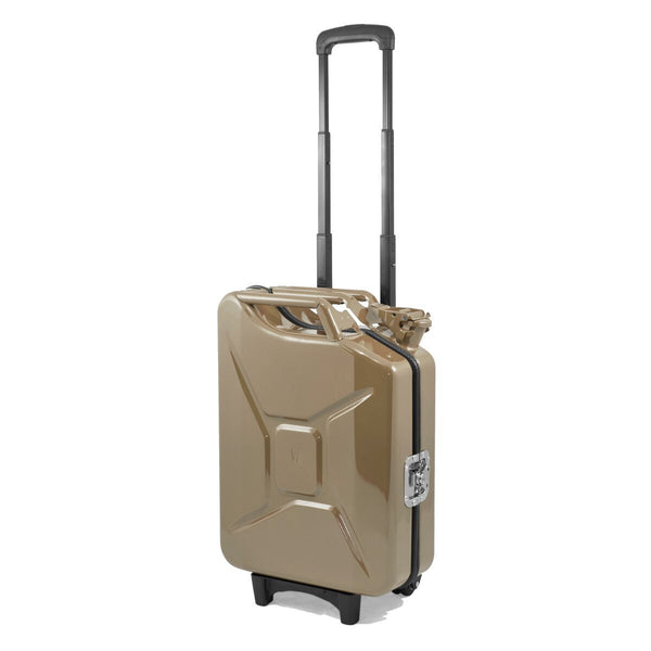 Trolley Tank - Tanica MARRONE BROWN WHITE G-Case
