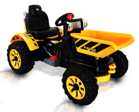 12V Tipper kids ride on car