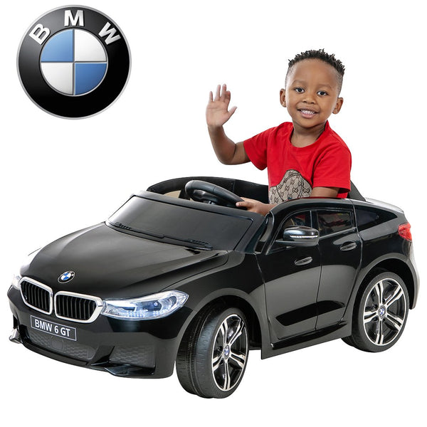 12V BMW GT Kids ride on car-BLK