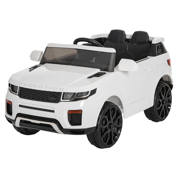 Demo 12V Evoque replica kids ride on car- Wht
