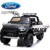 *NEW*  Police Ford Raptor  - 2 seater kids ride on car rubber tyres-black