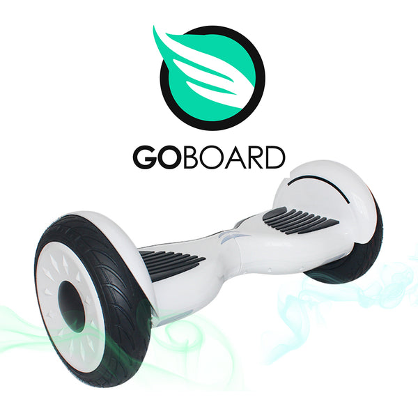 2019 Goboard XL 2.0 Hoverboard 10inch- White