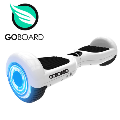 GOBOARD Infinity Wheels -Bluetooth Hoverboard- white