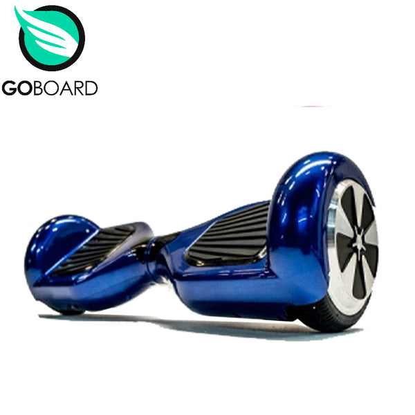 GOBOARD 2.0 Hoverboard - Chrome blue