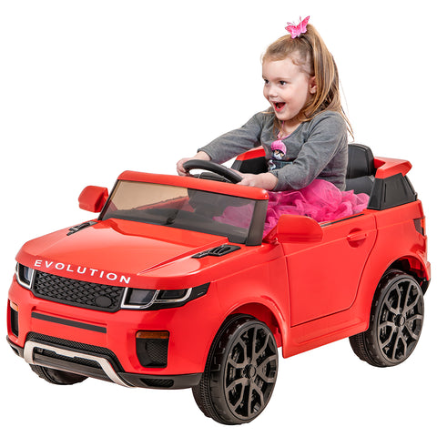 12V Evoque replica kids ride on car- Red