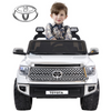 12V Toyota - 2 seater bakkie- rubber wheels