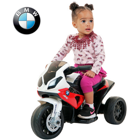 BMW Mini Superbike RR1000 motorised kids ride on-Red
