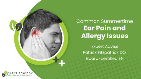 Common Summertime Ear Pain and Allergy Issues