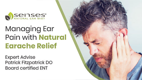 managing ear pain with natural earache relief