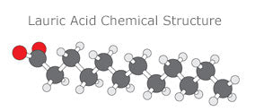 Lauric Acid Chemical Structure