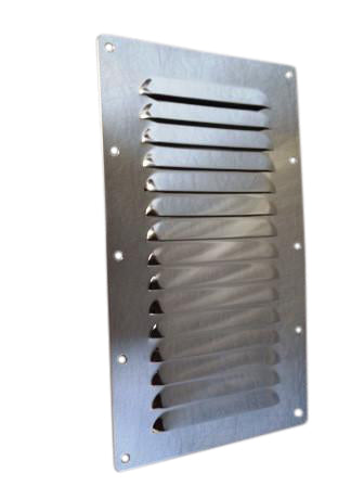 "5"" x 9"" Stainless steel vent"