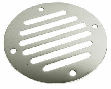 "3.25"" Stainless steel drain cover"