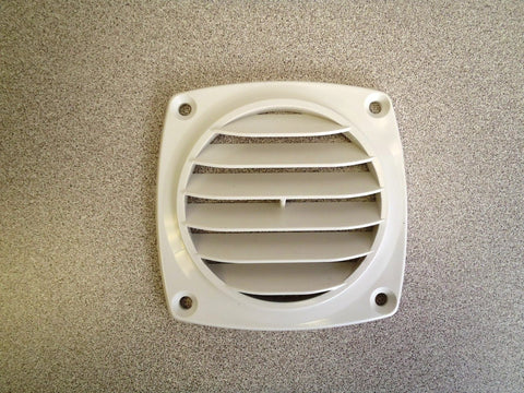 "3-5/8"" ABS vent, white"