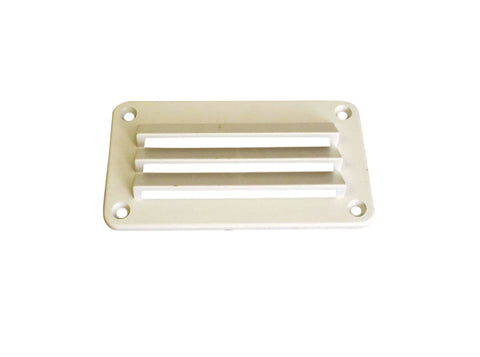 "3"" x 5-1/2"" ABS vent, white"