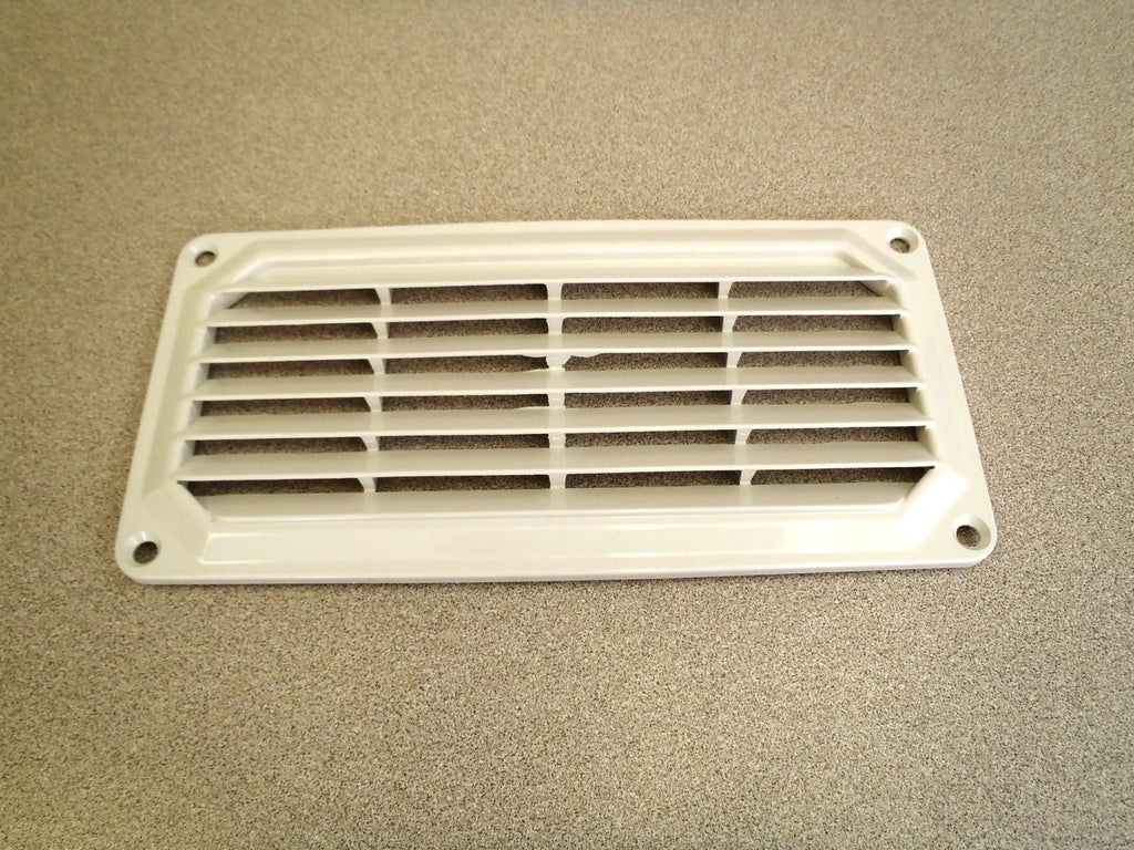"3-7/8"" x 7-7/8"" ABS vent, white"