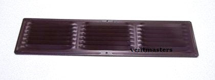 "4"" x 16"" Soffit Vent, brown"