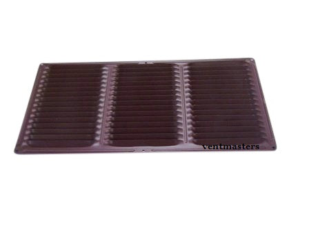 "8"" x 16"" Soffit Vent, brown"