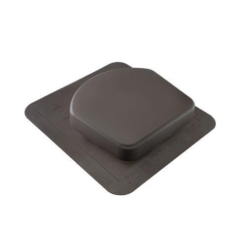 Snowventco Roof Vent - Exhaust - Gray