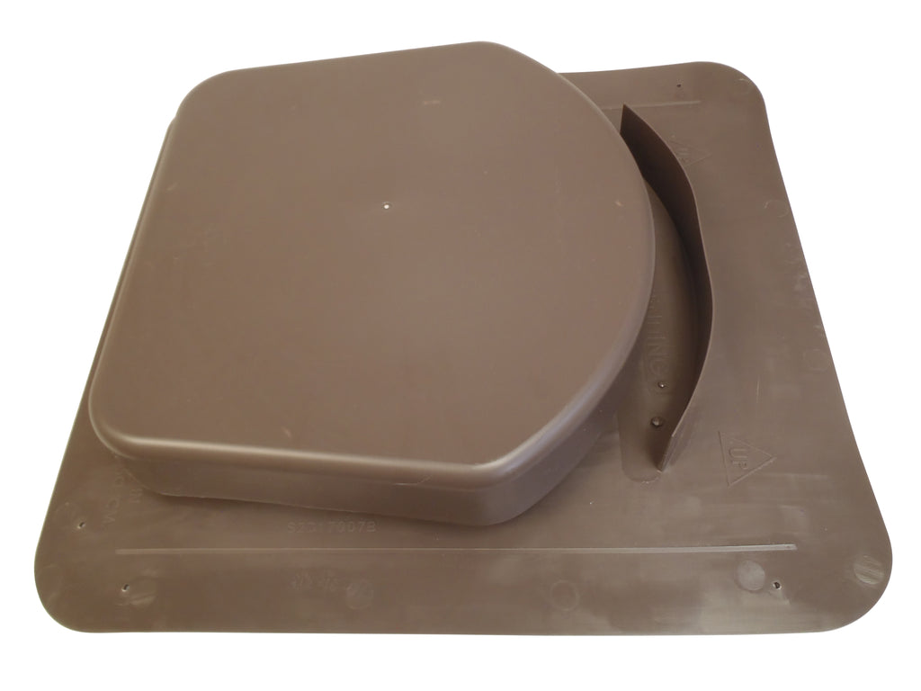 Snowventco Roof Vent - Intake - Brown